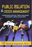 Public Relation and Crisis Management