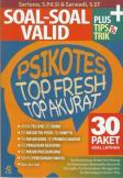 Soal-Soal Valid Psikotes Top Fresh Top Akurat   [Buku Baru]