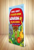 SUPER SERU!!! Sticker book LIBURAN Paling keren